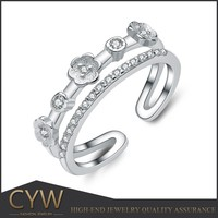 CYW wholesale sterling silver ring mountings , christmas jewellery manufacturers wholesale