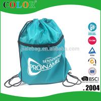 New Design Promotional Polyester Custom Drawstring Bag
