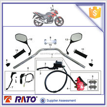 ITALIKA FT180 motorbike rear view mirror, disc brake, motorcycle steering handle pipe, clutch lever for sale
