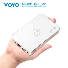 2015 newest arrival VOYO V2 Intel Atom Z3735F windows10 mini pc with 2GB RAM 32GB EMMC 64GB SSD