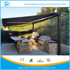 High quality conservatory awning / remote motor awnings Prefab Electric Retractable door entrance awning