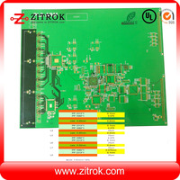 Multilayer gps tracker pcb with immersion gold/ gps antenna pcb/ detector printed circuit board