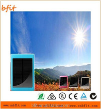 High Quality 30000mAh Solar Panel Power Bank Dual USB External Battery Charger