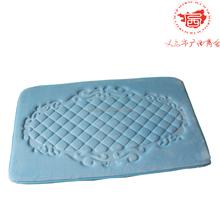 The fashional soft printing fabric round floor mat