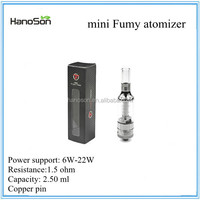 2015 sub ohm tank 1.5ohm and 0.5ohm tank vapor 15mm and 18mm tank vapor wholesales mini atomizer 1.5ohm and 0.5ohm