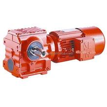 High heat-radiating efficiency WPDS worm gear speed reducer