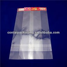 Transparent OPP Header Bag with Butterfly Hole