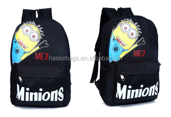 Bande dessinée école de design despicable minion sac à dos