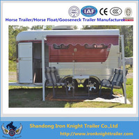 2 Horse slant load trailer with living quarter