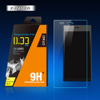 0.15mm 0.2mm anti shock 9h tempered glass screen protector for blackberry q10