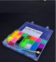 2015 Colorful loom bands ,silicone wrist bracelet,DIY loom bands bracelet,loom rubber bands