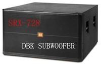 1200W pa subwoofer dual 18 sound system dj sound box/speaker SRX-728 from guangzhou ,china
