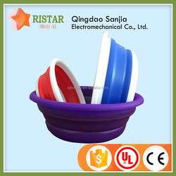 Environmentally Friendly Plastic Folding /Collapsible Fruit Basket