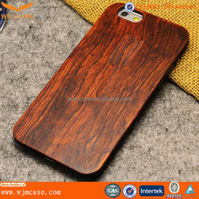 Top quality wood pattern hard pc phone case for iphone 6