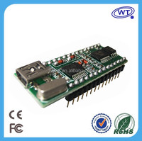 Programmable sound module with usb port, embedded voice processor