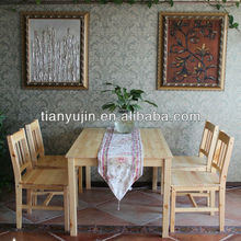 on big sale decades classic toppest selling IKEA solid wooden dining set dining room table set