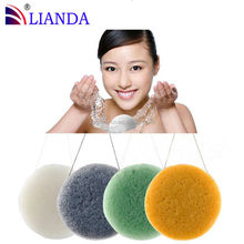 konjac sponge charcoal hot selling on Amazon