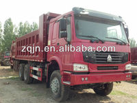 Special Price HOWO USED DUMP TRUCK