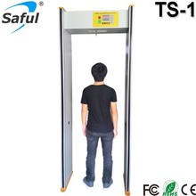 The most economic door frame metal detector price single zone gate type pinpoint metal detector TS-1