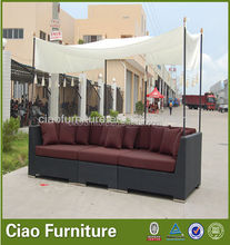 good looking sectional sofa with canopy