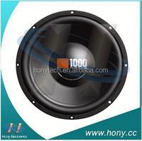 Free shipping for Massive Audio CS1204 1000 Watt 12 Single 4 Ohm Car Audio Subwoofer New