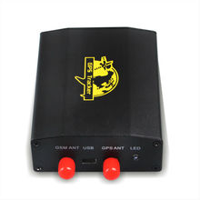 gps gprs perseguidor tk103-2 con construido en el sensor de movimiento y la antena externa