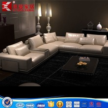 fashionable genuine leather sofa made in China