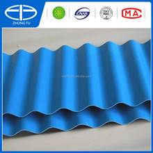 UPVC Plastic sheet corrugated type for wall panel and roof tile