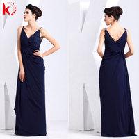 Hot sale shoulder strap elegant v-neck pakistani ladies dresses