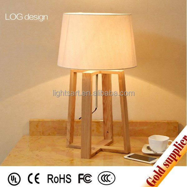2015 Modern Design Wood Table Lamp Shade For Home