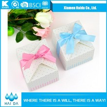 Sweet Wedding Folding Paper Candy Box Package