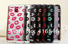 New Lovely Sexy Lip Prints Cover Case for Samsung Galaxy Note 3 III N9000 Back Cover