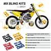 MX RMZ250 07-13, RMZ450 05-13 GOLD MOTOCROSS BIKE BLING KIT For SUZUKI