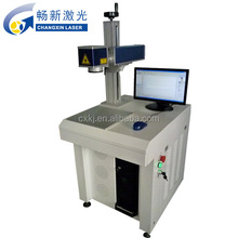 small-scale Laser 10w metal / plastic Portable Fiber Laser Marking Machine Price