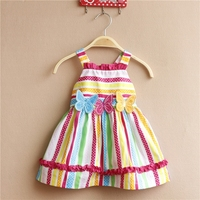 Clothes For Newborn Girl Butterfly Design Frocks Dresses For Girls 1 Year Pink