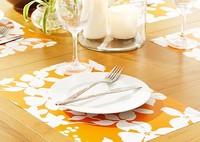 Custom full color printing Beer PP placemat, pp table mat, plastic eat mat