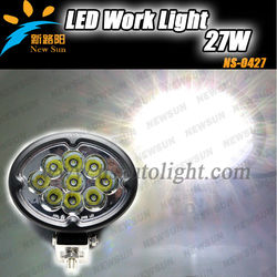 C ree 27w led tractor work light,led handheld light super bright farming,truck,excavator 27w working led light