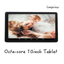 Allwinner A83t 10inch Octa Core Tablet Pc Google Android 4.4.4 Kitkat, 1GB Ram, 16GB Nand Flash, Built-in Bluetooth ,Wifi