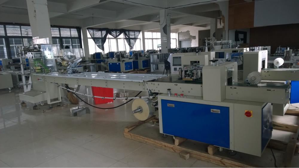 wipes manufacturing machine