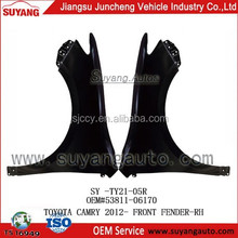 Auto Metal Parts Front Fenders/Wings for Toyota Camry 2012-