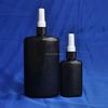 Glue bottle with ISO9001 250ml UV black plastic glue bottle