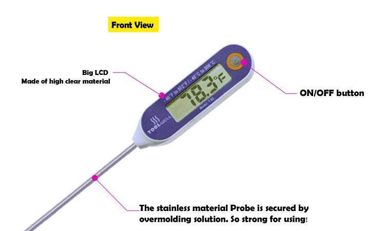 ip 68 wasserdichte digital industrie thermometer lebensmittel ... - Thermometer Küche