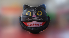inflatable decoration halloween plush black cat