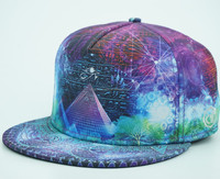 hot sale sublimation printed flat bill snapback hats