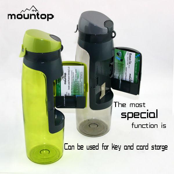 75cl best selling outdoor garrafa de água esportes garrafa de plástico de carteira