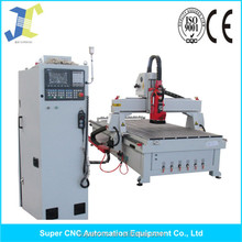 auto tool changer wood carving small cnc machine with servo motor