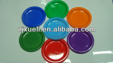 hot selling 7 inch 9inch 10inch party new year tableware