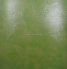 High grade eco-friendly pvc synthetic leather used for sofa, furniture leather material