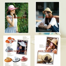 colorful Fashion foldable pink camouflage hat
