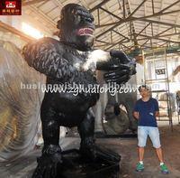3.8M high Moving King Kong figure model